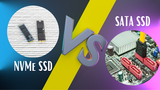 NVMe ssd and a SATA Solid state drive