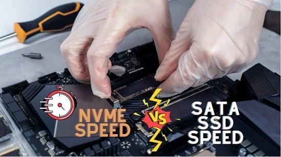 nvme speed vs sata ssd speed