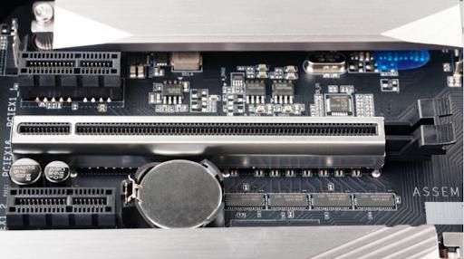 grey and black u.2 ssd connector