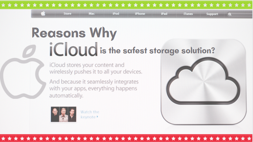 3 Reason Why iCloud Video Storage Is The Safest Way To Store Your Videos