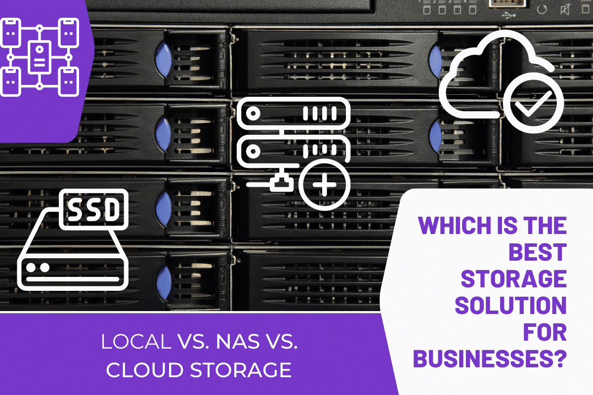 Cloud Storage Vs Local Storage Vs NAS Storage For Video Editing; Which is Better?